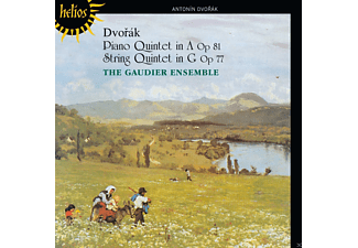 The Gaudier Ensemble - Dvořák: Piano Quintet Op. 81 & String Quintet Op. 77 - (CD)