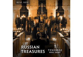 VARIOUS - Russian Treasures - (CD)
