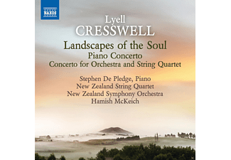 Stephen De Pledge, New Zealand Symphony Orchestra, The New Zealand String Quartet - Cresswell: Landscapes Of The Soul - (CD)