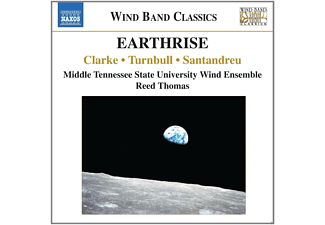 Reed Thomas, Mtsu Wind Ensemble - Earthrise - (CD)