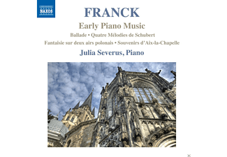 Julia Severus - Franck: Early Piano Music - (CD)
