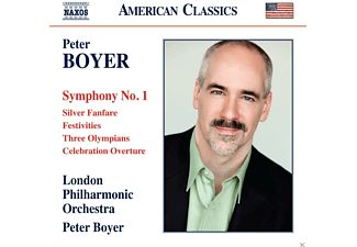 The London Philharmonic Orchestra - Boyer: Symphony No. 1 - (CD)