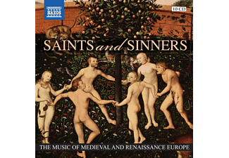 VARIOUS, Various Orchestras - Saints And Sinners - (CD)