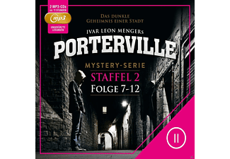 Porterville Staffel 2: Folge 7 - 12 - 2 MP3-CD - Krimi/Thriller