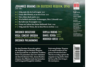 Dresdner Kreuzchor, Dresdner Philharmonie - Deutsches Requiem - (CD)