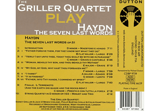 Griller Quartet - The Seven Last Words Op.51 - (CD)