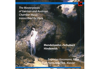 Hans Jörg Fink, Evgeniya Kossmann - The Masterpieces Of German And Austrian Chamber Music Transcribed For Flute - (CD)
