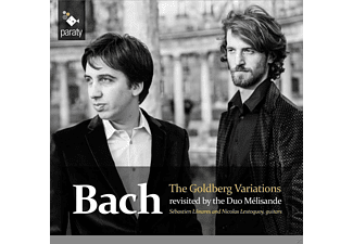Duo Melisande - The Goldberg Variations - (CD)