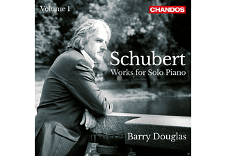 Barry Douglas - Schubert: Works For Solo Piano - (CD)