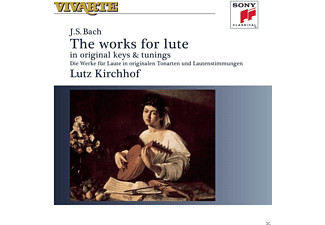 Lutz Kirchhof - Johann Sebastian Bach: Complete Works For Lute - (CD)