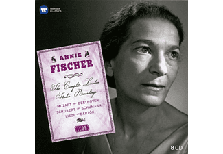 Annie Fischer, Various Orchestras - Annie Fischer - The Complete London Studio Recordings - (CD)