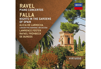 Különböző előadók - Ravel - Piano Concertos / Falla - Nights In The Gardens of Spain (CD)