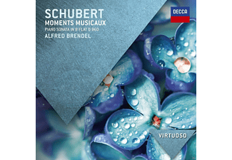 Alfred Brendel - Schubert: Moments Musicaux, Klaviersonate D.960 [CD]