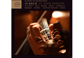 James Gilchrist, Ashley Riches, Elizabeth Watts, Sarah Connolly, Andrew Kennedy, Christopher Purves, Academy Of Ancient Music, Choir Of The Aam, Matthew Rose - St. John Passion - (CD)