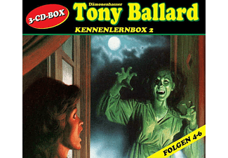 Tony Ballard Kennenlernbox 02 - 3 CD - Horror