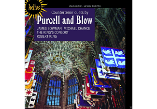 James Bowman, Michael Chance, The King's Consort - Countertenor - Duette By Purcell And Blow - (CD)