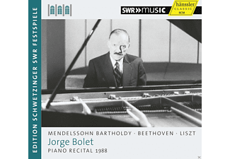 Jorge Bolet - Piano Recital 1988 - (CD)