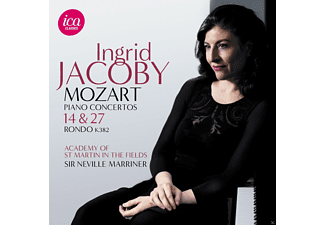 Ingrid Jacoby, Sir Neville Marriner, Academy of St. Martin in the Fields - Piano Concertos 14 & 27 - (CD)
