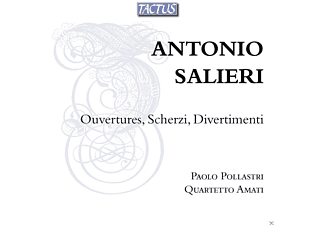 Paolo Pollastri, Quartetto Amati - Ouvertures, Scherzi, Divertimenti - (CD)