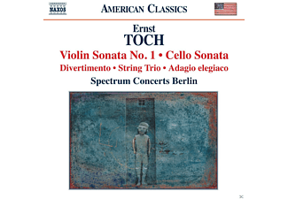 Spectrum Concerts Berlin - Toch: Violin Sonata No. 1 - Cello Sonata - (CD)