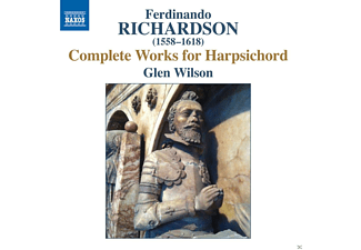 Glen Wilson - Richardson: Complete Works For Harpsichord - (CD)