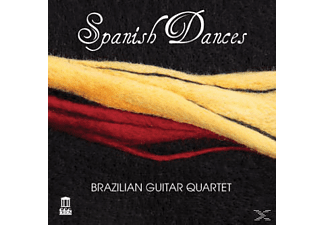Brazilian Guitar Quartet - Spanish Dances - (CD)