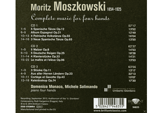 Domenico Monaco, Michele Solimando - Complete Music For 4 Hands - (CD)