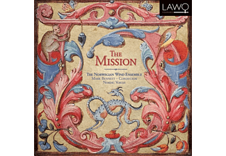 The Norwegian Wind Ensemble, Nordic Voices - The Mission - (CD)