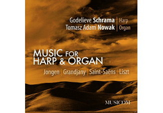 Godelieve Schrama, Nowak Tomasz Adam - Music For Harp & Organ [CD]