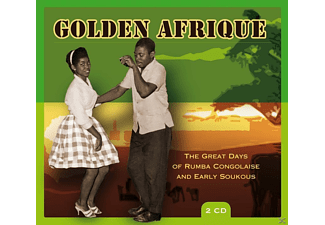 VARIOUS - Golden Afrique-Great Days Of Rumba Congolaise - (CD)