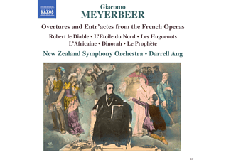 New Zealand Symphony Orchestra - Meyerbeer: Overtures And Entr'actes From The French Operas - (CD)