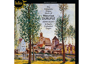 John Scott - The Complete Organ Music Of Maurice Durufle - St. Paul's Cathedral Organ - (CD)