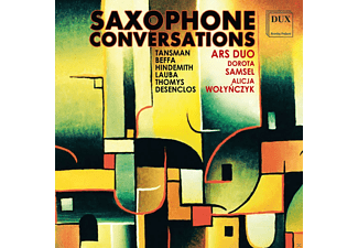 Ars Duo - Saxophone Conversations - (CD)