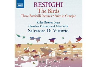 Kyler Brown, Chamber Orchestra Of New York - Gli Uccelli - The Birds /Trittico Botticelliano - (CD)
