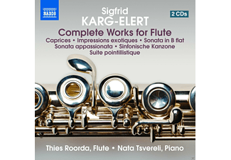 Nata Tsvereli, Roorda Thies - Complete Works For Flute - (CD)