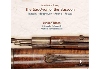 Lyndon Watts, Edoardo Torbianelli, Marion Treupel-Franck - The Stradivari Of The Bassoon - (CD)