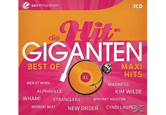 Various - Die Hit Giganten Best Of Maxi Hits [CD]