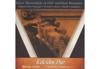 "Kaleidos Duo, Miroslav Hristov, Valjarevic Vladimir - Italy's ""Generation Of 1880"" And Their Disciples - (CD)"