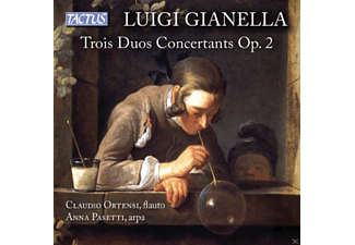 Claudio Ortensi, Anna Pasetti - Trois Duos Concertants op.2 - (CD)