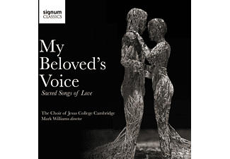 Robert Dixon, Benjamin Morris, Cambridge Choir Of Jesus College - My Beloved's Voice-Sacred Songs of Love - (CD)