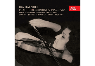 Ida Haendel, Alfred Holecek, Prague Symphony Orchestra, The Czech Philharmonic Orchestra - Ida Händel Prague Recordings 1957-1965 - (CD)
