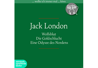 Klassiker to go - Jack London - 6 CD - Literatur/Klassiker