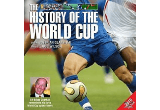 The History of the World Cup 2010 Edition - 4 CD - Hörbuch