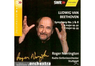 Sir Roger Norrington - Sinfonien 7+8 - (CD)