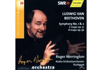 Sir Roger Norrington - SYM NO.1+2 C MAJ.OP.21/D OP.36 - (CD)