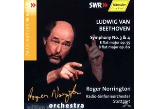 Rsos, Roger Norrington - Sinfonien 3+4 - (CD)