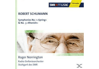 Rsos, Roger Norrington - Sinfonien 1+3 - (CD)