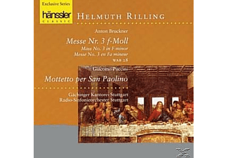 GÄCH.KANT. - MESSE 3/MOTETTO P.SAN PAOLINO - (CD)