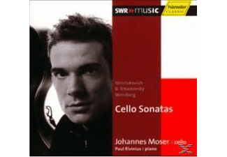 Johannes Moser - Cello Sonatas - (CD)