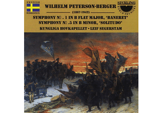Segerstam Royal Opera Orchester, Wilhelm Olof Peterson-Berger - Wilhelm Peterson-Berger: Symphonies 1 And 5 - (CD)